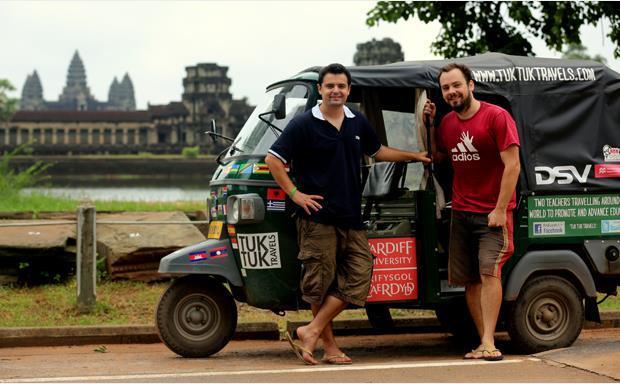 Angkor Wat and Tuk Tuk